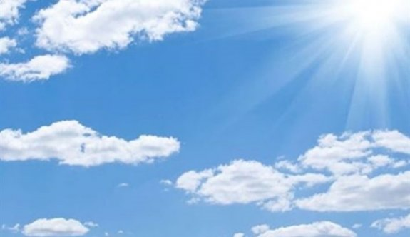 Önümüzdeki günlerde hava açık ve az bulutlu olacak