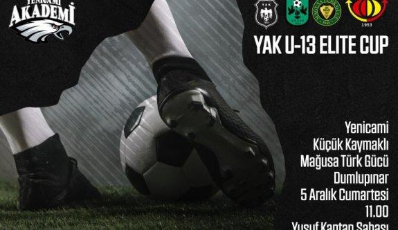 U13 Elite Cup'ta oynayacaklar