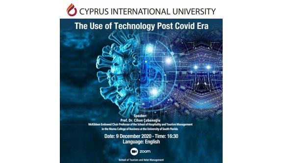 """UKÜ'de """"Covid-19 Dönemi Sonrası Teknoloji Kullanımı"""" irdelendi"""