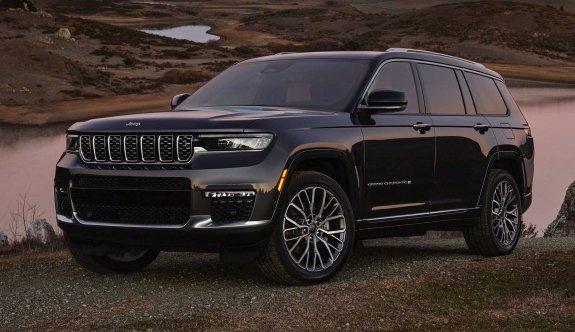 2021 Jeep Grand Cherokee L görücüye çıktı