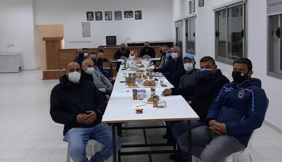 Ahmet Erbay yönetimi görev dağılımı yaptı