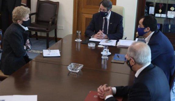 Anastasiadis Guterres'in inisiyatif almasına sıcak bakıyor