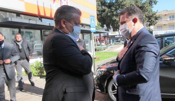 Başbakan Ersan Saner ilçe emniyet kurulu toplantısına katıldı