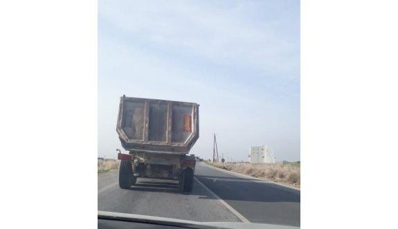Bu kamyonları denetleyen yok mu?
