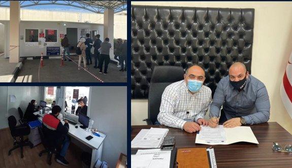 Döveç Group'tan Mağusa Hastanesi'ne anlamlı katkı