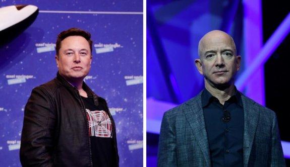 Dünyanın en zengin iki insanının uzayda 'yörünge savaşı'