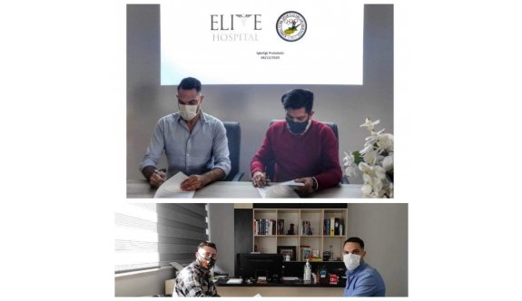 Elite Hastanesinden, spora katkı