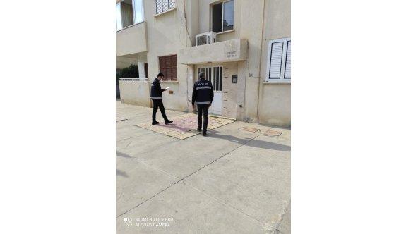 Ev karantinasına polis denetimi