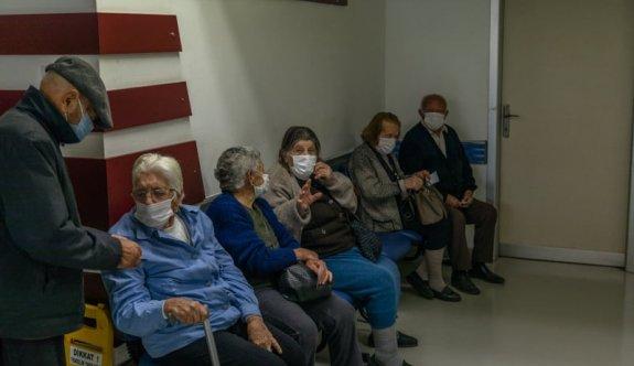 Girne'de yine aşı krizi