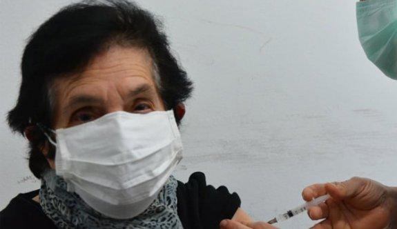 Girne'de aşılar ilk günden bitti