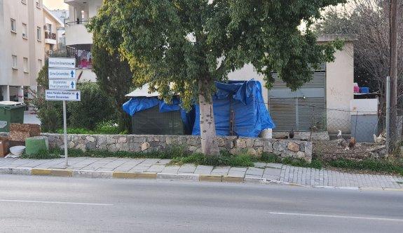 Girne'ye yakışmayan görüntü