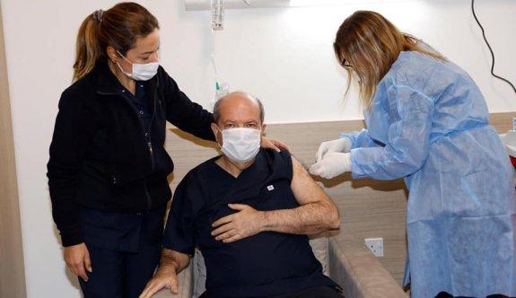 İlk aşı Tatar'a