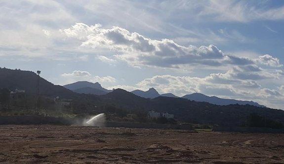 Kaplıca Sahasında sular aktı
