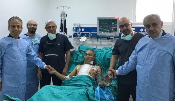 Kıbrıs'ın genelinde üçüncü kalp nakli gerçekleşti