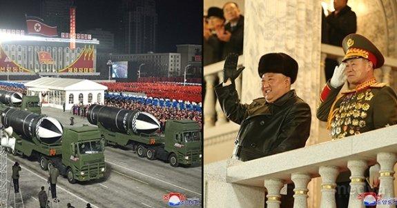 Kim'den Biden'a gövde gösterisi