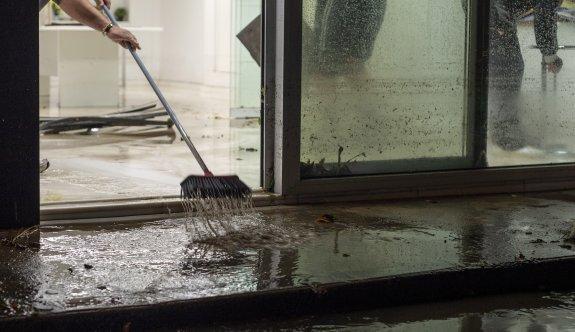 Kötü hava şartları Limasol'da etkili oldu