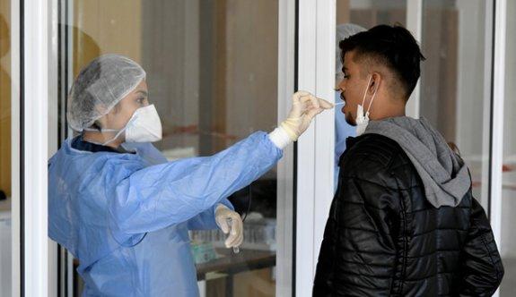 Lefkoşa'da saat 11.00 itibariyle 212 kişi ücretsiz pcr testi yaptırdı