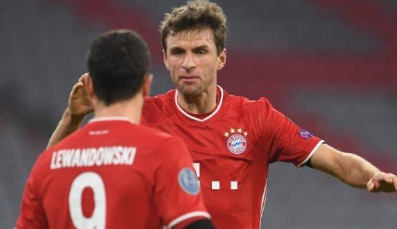 Lewandowski ve Müller 9 takımı geride bıraktı