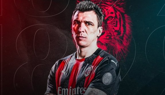 Mandzukic'in yeni adresi Milan oldu