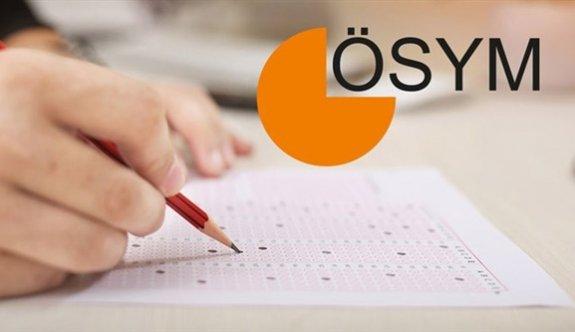 ÖSYM 2021 sınav takvimini açıkladı