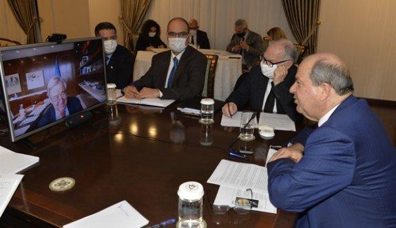 Tatar, Guterres'e yeni bir müzakere zeminine ihtiyaç olduğunu iletti
