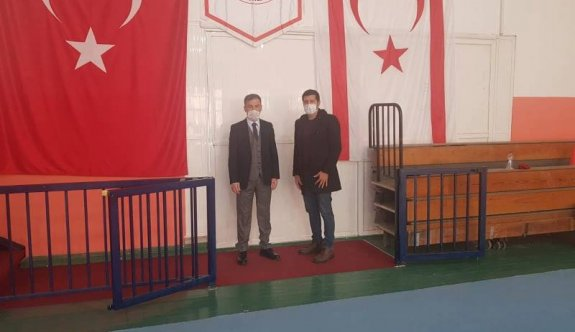 Tekçam, Cimnastik Federasyonunu ziyaret etti