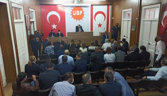 UBP MYK'sı Saner'e seçim tarihini belirleme yetkisi verdi