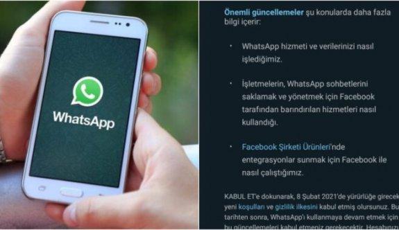 Verilerini paylaşmayana WhatsApp yasağı geliyor