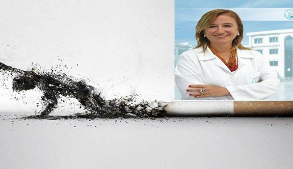 """""""Yeni yılda sigarayı bırakın sağlığa adım atın"""""""