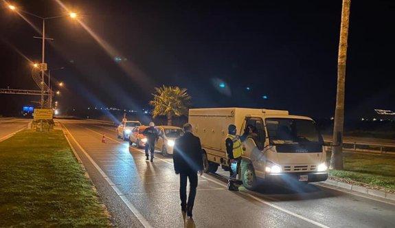 33 kişi sokağa çıkma yasağını ihlalden ceza kesildi