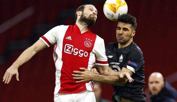 Ajax, Lille'e şans tanımadı