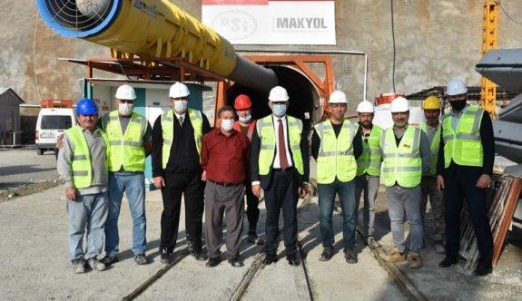Bakan Çavuşoğlu Güzelyurt Ve Mesarya Ovası Su Tüneli'nde İncelemelerde Bulundu