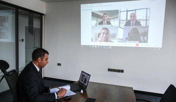 Banka ile etkili iletişime video konferans desteği