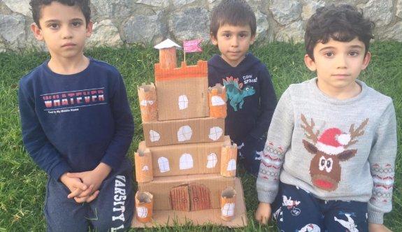 Çocuklar, Prof. Sancar'ın yaşam öyküsünü öğrendi
