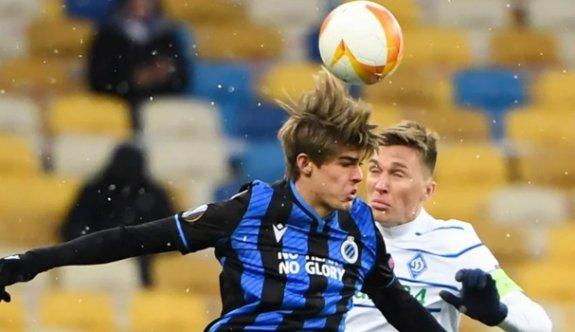 Dinamo Kiev ile Club Brugge yenişemedi