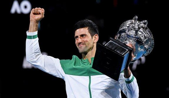 Djokovic, Avustralya Açık'ta 9. kez şampiyon