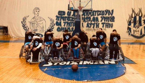 Futbol holiganları, tekerlekli sandalye oyuncularına saldırdı