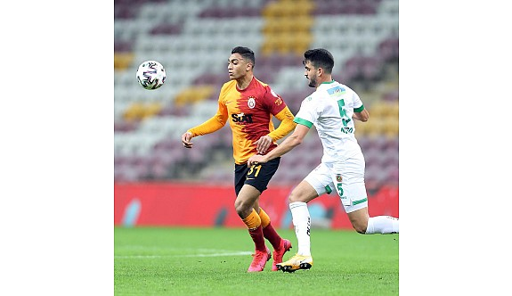 Galatasaray da kupaya veda etti