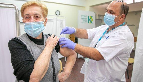 İsrail'de aşı oranı nüfusun yarısını geçti