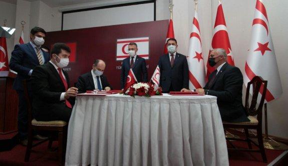 KKTC ile Türkiye arasında 4 anlaşma imzalandı