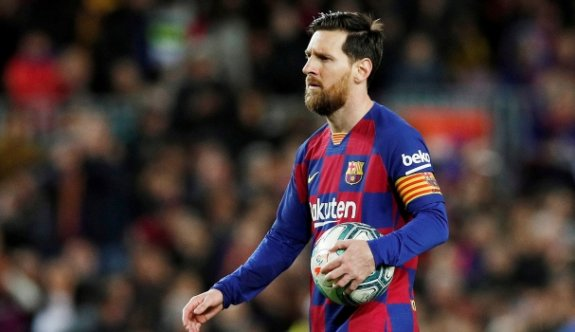 Messi'nin acelesi yok
