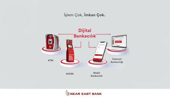 Near East Bank'ta dijital bankacılıkla işlem yapmak avantajlı
