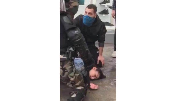 Rum polisinden göstericilere orantısız güç