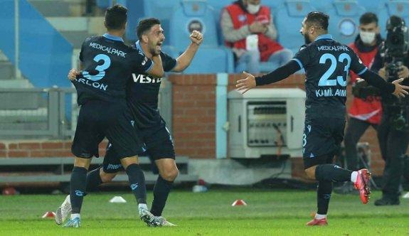 Trabzonspor, bir attı, 3 aldı