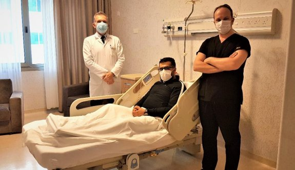YDÜ Hastanesi'nden pandemiye rağmen sağlık turizmi atağı