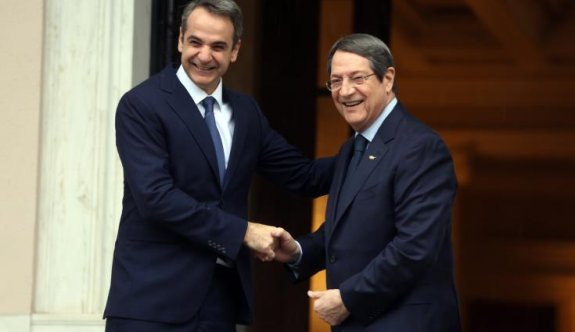 Yunanistan Başbakanı Miçotakis pazartesi Güney Kıbrıs'a gelecek
