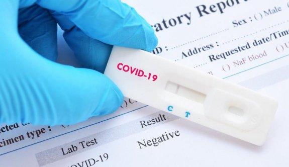 AB'nin gönderdiği hızlı antijen testler teslim alındı