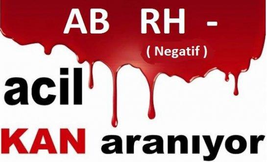Acil AB - (Negatif)  KAN ARANIYOR