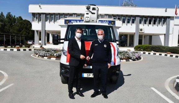 Aselsan, Polis Genel Müdürlüğüne araç hibe etti