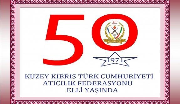 Atıcılık Federasyonunda 50. yaş gururu